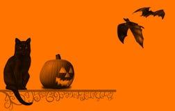 Halloween-Abbildung Lizenzfreies Stockbild