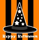 Halloween-Abbildung Stockbilder