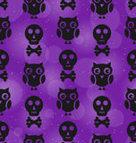 Halloween Abstract Seamless Texture Royalty Free Stock Photos
