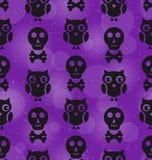 Halloween Abstract Seamless Texture Royalty Free Stock Photos