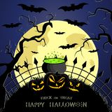 The Halloween Royalty Free Stock Photo