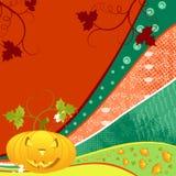 Halloween abstrakcjonistyczny tło Obrazy Stock