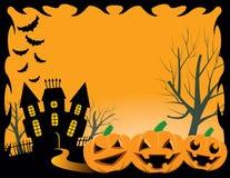 Halloween-Achtergrond royalty-vrije illustratie