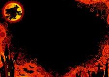 Halloween-achtergrond Stock Afbeelding