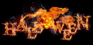 Halloween-achtergrond Royalty-vrije Stock Foto's