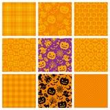 Halloween-achtergronden Stock Afbeeldingen