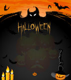 Halloween ads Royalty Free Stock Photography
