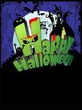 halloween affisch Arkivfoton