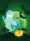 Halloween affisch Arkivbild