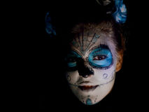 Halloween affronta Immagine Stock Libera da Diritti