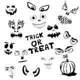 Halloween affronta Fotografie Stock