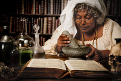 Halloween alchemist Royalty Free Stock Images