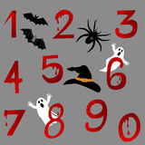 Halloween Alphabet. Stock Image