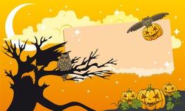 Halloween als thema gehade illustratie Royalty-vrije Stock Fotografie