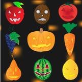Halloween-Anlagen Stockbilder