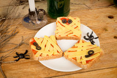 Halloween appetizers Royalty Free Stock Photo