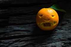 Halloween arancio Fotografia Stock Libera da Diritti