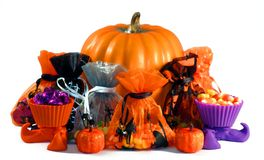 Halloween arrangement Royalty Free Stock Image