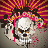 Halloween artistic banner. Stock Images