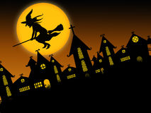 Halloween assustador 2 Fotos de Stock Royalty Free