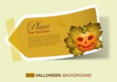Halloween-Aufkleber Lizenzfreies Stockbild