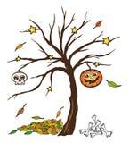 Halloween, automne Images libres de droits