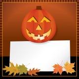 Halloween Autumn Background Royalty Free Stock Photos