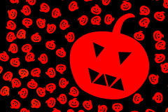 Halloween picture, Halloween viewing, Halloween image. Symbol of the feast of halloween Stock Photography