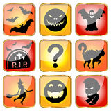 Halloween avatars Royalty Free Stock Photos