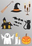 Halloween: azione Fotografie Stock