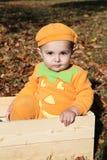 Halloween Baby Royalty Free Stock Photos