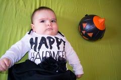 Halloween baby Royalty Free Stock Photo