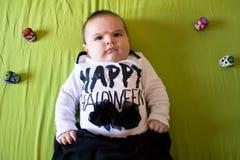 Halloween baby Stock Photos