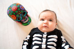 Halloween baby Stock Images
