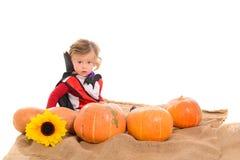 Halloween-babyjongen Royalty-vrije Stock Foto