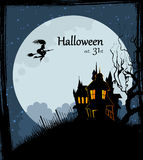 Halloween back Stock Images