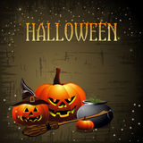 Halloween backdrop Stock Images