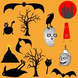Halloween backgroud Royalty Free Stock Photo