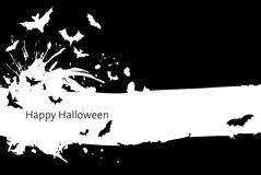 Halloween background. Background image with Halloween elements Stock Image
