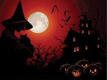 Halloween background Royalty Free Stock Images