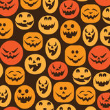 Halloween Background. Cool Halloween Background with Pumpkins Royalty Free Stock Photos