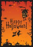 Halloween Background_2012 Royalty Free Stock Photos