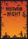 Halloween Background_2012 Royalty Free Stock Photo