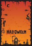 Halloween Background_2012 Stock Image