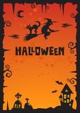 Halloween Background_2012 Royalty Free Stock Image