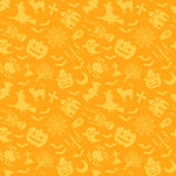 Halloween background. Background of Halloween orange illustrations Royalty Free Stock Image