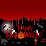 Halloween background. Royalty Free Stock Photo