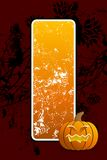 Halloween background. Abstract halloween background with pumpkin vector illustration Royalty Free Stock Photos