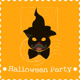 Halloween background abstract illustration icon Stock Photography
