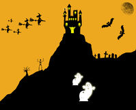 Halloween background. Royalty Free Stock Image